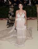 Selena Gomez Photo - Photo by XPXstarmaxinccomSTAR MAXCopyright 2018ALL RIGHTS RESERVEDTelephoneFax (212) 995-11965718Selena Gomez at the 2018 Costume Institute Benefit Gala celebrating the opening of Heavenly Bodies Fashion and the Catholic Imagination(The Metropolitan Museum of Art NYC)