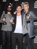 30 Seconds to Mars Photo - Photo by Michael Germanastarmaxinccom201091210Jared Leto with his band 30 Seconds to Mars at the MTV Video Music Awards(Los Angeles CA)