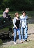 Nicole Kidman Photo - Photo by GWRstarmaxinccomSTAR MAX2014ALL RIGHTS RESERVEDTelephoneFax (212) 995-119681414Nicole Kidman and Jason Bateman on the set of The Family Fang(Harriman State Park NY)