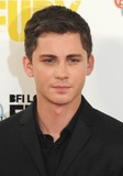 Logan Lerman Photo - Photo by KGC-03starmaxinccomSTAR MAX2014ALL RIGHTS RESERVEDTelephoneFax (212) 995-1196101914Logan Lerman at the photocall for Fury during the 58th BFI London Film Festival(London England UK)