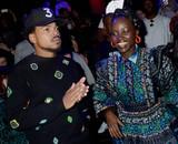Lupita Nyongo Photo - Photo by Dennis Van TinestarmaxinccomSTAR MAX2016ALL RIGHTS RESERVEDTelephoneFax (212) 995-1196101916Chance The Rapper and Lupita Nyongo at KENZO x HM(NYC)