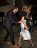 Armie Hammer Photo - Photo by gotpapstarmaxinccomSTAR MAX2018ALL RIGHTS RESERVEDTelephoneFax (212) 995-119631918Armie Hammer and Elizabeth Chambers are seen outside Craigs Restaurant in Los Angles CA