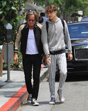 Anwar Hadid Photo - Photo by gotpapstarmaxinccomSTAR MAX2017ALL RIGHTS RESERVEDTelephoneFax (212) 995-119652417Mohamed Hadid and Anwar Hadid are seen in Los Angeles CA