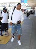 Nelly Photo - Photo by gotpapstarmaxinccomSTAR MAX2017ALL RIGHTS RESERVEDTelephoneFax (212) 995-119651917Nelly is seen at LAX Airport in Los Angeles CA
