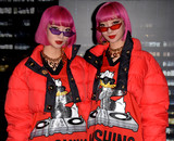 Aya Photo - Photo by Patricia SchleinstarmaxinccomSTAR MAX2018ALL RIGHTS RESERVEDTelephoneFax (212) 995-1196102418Ami and Aya at the Moschino x HM event in New York City