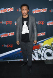 Aasif Mandvi Photo - Photo by John NacionstarmaxinccomSTAR MAXCopyright 2017ALL RIGHTS RESERVEDTelephoneFax (212) 995-119610717Aasif Mandvi at the photocall for Shut Eye during New York Comic Con(NYC)