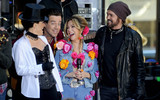Kathy Lee Photo - Photo by Dennis Van TinestarmaxinccomSTAR MAX2017ALL RIGHTS RESERVEDTelephoneFax (212) 995-1196103117Megyn Kelly Carson Daly Kathie Lee Gifford and Billy Ray Cyrus at Todays Halloween Extravaganza 2017 in New York City