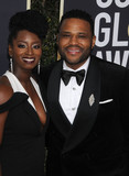 Anthony Anderson Photo - Photo by GalaxystarmaxinccomSTAR MAXCopyright 2018ALL RIGHTS RESERVEDTelephoneFax (212) 995-11961718Alvina Stewart and Anthony Anderson at the 75th Annual Golden Globe Awards(Beverly Hills CA)s