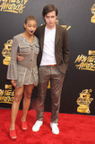 Amandla Stenberg Photo - Photo by GalaxystarmaxinccomSTAR MAX2017ALL RIGHTS RESERVEDTelephoneFax (212) 995-11965717Amandla Stenberg and Nick Robinson at The 2017 MTV Movie And TV Awards in Los Angeles CA