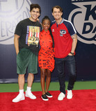 Alex Aiono Photo - Photo by John NacionstarmaxinccomSTAR MAX2018ALL RIGHTS RESERVEDTelephoneFax (212) 995-119682518Alex Aiono Shar Jackson and Morgan Tompkins at the 2018 Arthur Ashe Kids Day in New Yor City