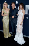 Annabelle Wallis Photo - Photo by Dennis Van TinestarmaxinccomSTAR MAX2017ALL RIGHTS RESERVEDTelephoneFax (212) 995-11966617Annabelle Wallis Tom Cruise and Sofia Boutella at The Mummy New York Fan Event in New York City