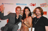 Valerie Perez Photo - NORTH HOLLYWOOD CA - SEPTEMBER 17 Actor Doug Jones   actress Valerie Perez and director Harry Kloor at A Night of Science Fiction Fantasy  Horror in Conjunction with The Burbank Film Festival After Party at TDJ Studios on September 17 2011  in North Hollywood California  (Albert L OrtegaImageCollectcom)