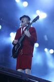 Angus Young Photo - Guitar player ANGUS YOUNG ACDC-concert Hamburg Volksparkstadion 26052016