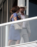 Jennifer Lopez Photo - Jennifer Lopez and Jason Statham film a balcony scene for their new movie Parker on set in Florida During the shoot Lopez ran through her lines after it looked like she forgot them much to Stathams amusement She also got a hair and makeup touch-up on a hot afternoon The movie based on the book Flashfire from the popular Parker series by Richard Stark is scheduled for release in October of 2012 Florida 20th September 2011