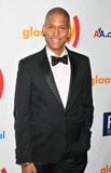 NATHAN WILLIAMS Photo - Nathan Williams poses for photographers at the 22nd Annual GLAAD Media Awards presented by ROKK Vodka held at Marriott Marquis Times Square New York NY 031911