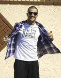 Mike The Situation Sorrentino Photo - EXCLUSIVE Dancing with the Stars dancer Mark Ballas shows off his Gym Tan Dance t-shirt which was given to him by Mike The Situation Sorrentino on the last season of the show Los Angeles CA 31611Fees must be agreed prior to publication