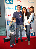 Ann Russell Photo - Jeff Probst and girlfriend actress Lisa Ann Russell and her kids Michael Gosselaar and Ava Gosselaar (born with ex-husband Saved by the Bell actor Mark-Paul Gosselaar) attend the 2nd Annual Milk and Bookies Story Time Celebration held at the Skirball Cultural Center Los Angeles CA 032011
