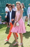 Andy Wong Photo - Victoria Hervey and Andy Wong at the Cartier International Polo At Windsor Great Park UK 072411