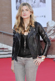 Cecile Cassel Photo - Actress Cecile Cassel in a cool Chanel leather biker jacket attends the photo call for Leila directed by Audrey Estrougo held at Auditorium Parco Della Musica during the 5th International Rome Film Festival Rome ITA 102810