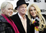 Anna Berglund Photo - Hugh Hefner and girlfriends Anna Berglund (L) and Crystal Harris (R) attend a screening of Hugh Hefner Playboy Activist and Rebel a documentary about the Playboy magazine founder directed by Oscar winning documentarian Brigitte Bermanheld held at the Gene Siskel Film Center Chicago IL 102910