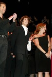 Adam Pascal Photo - Adam Pascal Josh Groban and Julia Murney at Curtain Call For the Third Annual Actors Fund of America Benefit Concert of Chess at the New Amsterdam Theatre in New York City on September 22 2003 Photo Henry McgeeGlobe Photos Inc 2003