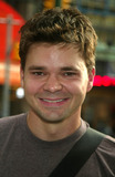 Huckleberry Finn Photo - Hunter Foster Arriving at the Opening Night of Big River the Adventures of Huckleberry Finn at the American Airlines Theater in New York City on July 24 2003 Photo Henry McgeeGlobe Photos Inc 2003