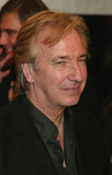 Alan Rickman Photo - Alan Rickman Arriving at the World Premiere of Love Actually at the Ziegfeld Theatre in New York City on November 6 2003 Photo Henry McgeeGlobe Photos Inc 2003