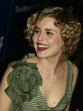 Alison Lohman Photo - Alison Lohman Arriving at the Premiere of Big Fish at the Ziegfeld in New York City on December 4 2003 Photo Henry McgeeGlobe Photos Inc 2003