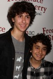 Alex Wolff Photo - NAT WOLFF and ALEX WOLFF from THE NAKED BROTHERS BAND arriving at the opening night of Off-Broadways Freckleface Strawberry The Musical based on Julianne Moores best-selling childrens book series at New World Stages in New York City on 10-01-2010  Photo by Henry McGee-Globe Photos Inc 2010K66048HMc