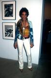Lenny Kravitz Photo -  122001 the Lenny Kravitzmark Seliger Photo Exhibit and Book Signing NYC Cindy Blackman (Lenny Kravitzs Drummer) Photo by Henry McgeeGlobe Photos Inc