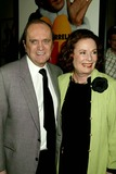Bob Newhart Photo - Bob Newhart with His Wife Virginia Arriving at the World Premiere of Elf at Loews Astor Plaza in New York City on November 2 2003 Photo Henry McgeeGlobe Photos Inc 2003