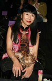 Amy Tan Photo - Amy Tan at Anna Sui Showing of Fall Collection in the Tent at Bryant Park in New York City on 02-09-2005 Photo by Henry McgeeGlobe Photos Inc 2005