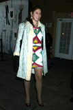 Stella Schnabel Photo - Stella Schnabel at Anna Sui Showing of Fall Collection in the Tent at Bryant Park in New York City on February 12 2003 Photo by Henry McgeeGlobe Photos Inc2003