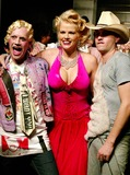Anna Nicole Smith Photo - Richie Rich Anna Nicole Smith and Trevor Raines at Heatherette Showing of Fall Collection at Mao Space at Atlas in New York City on February 12 2004 Photo by Henry McgeeGlobe Photos Inc 2004 Heatherette Fashion Runway Model