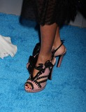 Erica Reid Photo - NYC  120209Erica Reid shoes at the 2009 UNICEF Snowflake Ball at Cipriani 42nd StreetDigital Photo by Adam Nemser-PHOTOlinknet