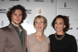 Aaron Johnson Photo - NYC  092110Aaron Johnson fiancedirector Sam Taylor-Wood and Kristin Scott Thomas at a screening of their new movie Nowhere Boy at the Tribeca Performing Arts CenterPhoto by Adam Nemser-PHOTOlinknet