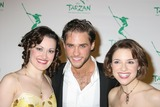 ASHLEY BROWN Photo - NYC  051006Ashley Brown (Beauty and the Beast) with Josh Strickland and Jenn Gambatese (both in TARZAN) at the opening night party for the new Broadway musical TARZAN presented by Disney at the Marriott MarquisDigital Photo by Adam Nemser-PHOTOlinknet