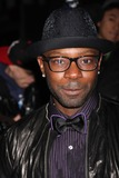 August Wilson Photo - NYC  042610Nelsan Ellis at the rainy Broadway opening of August Wilsons Fences at the Cort TheatreDigital Photo by Adam Nemser-PHOTOlinknet
