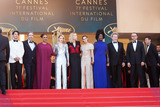 Andrey Zvyagintsev Photo - CANNES FRANCE - MAY 19 (L-R) Jury members Chang Chen Denis Villeneuve Ava DuVernay Lea Seydoux Jury president Cate Blanchett Jury members Kristen Stewart Khadja Nin Robert Guediguian and Andrey Zvyagintsev attend the Closing Ceremony  screening of The Man Who Killed Don Quixote during the 71st annual Cannes Film Festival at Palais des Festivals on May 19 2018 in Cannes France(Photo by Laurent KoffelImageCollectcom)