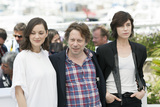 Marion Cotillard Photo - CANNES FRANCE - MAY 17 Actress Marion Cotillard actor Mathieu Amalric and actress Charlotte Gainsbourg  attends the Ismaels Ghosts (Les Fantomes dIsmael) photocall during the 70th annual Cannes Film Festival at Palais des Festivals on May 17 2017 in Cannes France(Photo by Laurent KoffelImageCollectcom)
