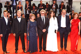 Anais Demoustier Photo - VENICE ITALY - SEPTEMBER 05 Robinson Stevenin Lola Naymark  Jean-Pierre Darroussin Anais Demoustier Robert Guediguian Ariane Ascaride Gerard Meylan and Gregoire Leprince-Ringuet walk the red carpet ahead of the Gloria Mundi screening during the 76th Venice Film Festival at Sala Grande on September 05 2019 in Venice Italy(Photo by Laurent KoffelImageCollectcom)