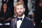 Alessandro Borghi Photo - VENICE ITALY - SEPTEMBER 06 Alessandro Borghi walks the red carpet ahead of the Loving Pablo screening during the 74th Venice Film Festival at Sala Grande on September 6 2017 in Venice Italy(Photo by Laurent KoffelImageCollectcom)