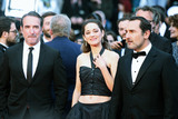 Marion Cotillard Photo - CANNES FRANCE - MAY 20 (L-R) Jean Dujardin Marion Cotillard and Gilles Lellouche attend the screening of Le Belle Epoque during the 72nd annual Cannes Film Festival on May 20 2019 in Cannes France(Photo by Laurent KoffelImageCollectcom)
