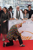 Adam Driver Photo - CANNES FRANCE - MAY 19 Director Terry Gilliam (front) poses with (L-R) Olga Kurylenko Oscar Jaenada Jonathan Pryce Adam Driver Joana Ribeiro attend The Man Who Killed Don Quixote Photocall during the 71st annual Cannes Film Festival at Palais des Festivals on May 19 2018 in Cannes France(Photo by Laurent KoffelImageCollectcom)