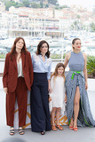 Marion Cotillard Photo - CANNES FRANCE - MAY 12 (L-R) Actress Amelie Daure director Vanessa Filho actress Ayline Aksoy-Etaix and actress Marion Cotillard attend the photocall for Angel Face (Gueule DAnge) during the 71st annual Cannes Film Festival at Palais des Festivals on May 12 2018 in Cannes France(Photo by Laurent KoffelImageCollectcom)