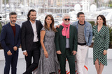 Pedro Almodovar Photo - CANNES FRANCE - MAY 18 (L-R) Leonardo Sbaraglia Penelope Cruz Asier Etxeandia Director Pedro Almodovar Nora Navas and Antonio Banderas attend the Pain And Glory (Dolor Y Gloria Douleur Et Gloire) photocall during the 72nd annual Cannes Film Festival on May 18 2019 in Cannes France (Photo by Laurent KoffelImageCollectcom)