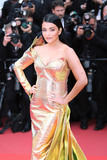 Aishwarya Ray Photo - CANNES FRANCE - MAY 19 Aishwarya Rai attends the screening of A Hidden Life (Une Vie Cache) during the 72nd annual Cannes Film Festival on May 19 2019 in Cannes France (Photo by Laurent KoffelImageCollectcom)