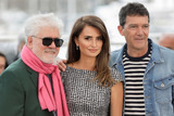 Antonio Banderas Photo - CANNES FRANCE - MAY 18 (L-R) Director Pedro Almodovar Penelope Cruz and Antonio Banderas attend the Pain And Glory (Dolor Y Gloria Douleur Et Gloire) photocall during the 72nd annual Cannes Film Festival on May 18 2019 in Cannes France (Photo by Laurent KoffelImageCollectcom)