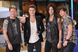 Hot Chelle Rae  Photo - July 20 2012 New York City Nash Overstreet Ryan Follese Ian Keaggy and Jamie Follese of Hot Chelle Rae perform on NBCs Today at Rockefeller Plaza on July 20 2012 in New York City