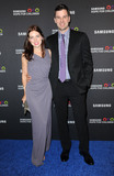 TIM MOREHOUSE Photo - September 17 2015 New York CityOlympic fencer Tim Morehouse and wife attending the Samsung Hope for Children Gala 2015 at Hammerstein Ballroom on September 17 2015 in New York CityCredit Kristin CallahanACE PicturesTel (646) 769 0430